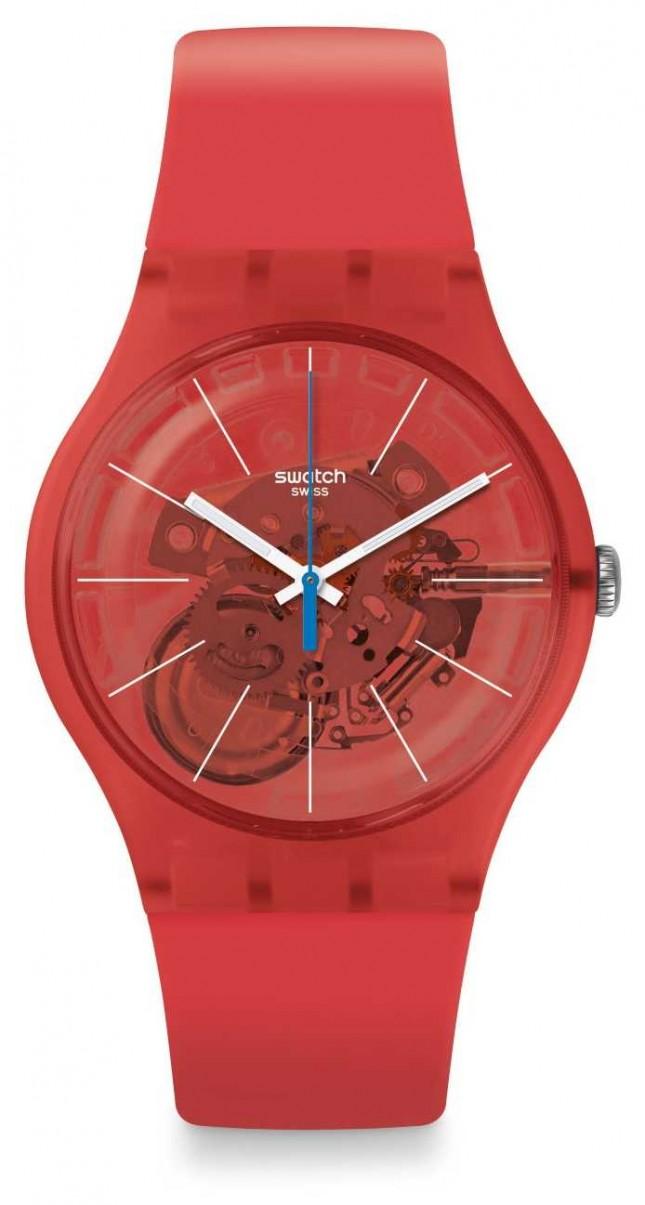 Swatch | New Gent | Bloody Orange Watch | SUOO105