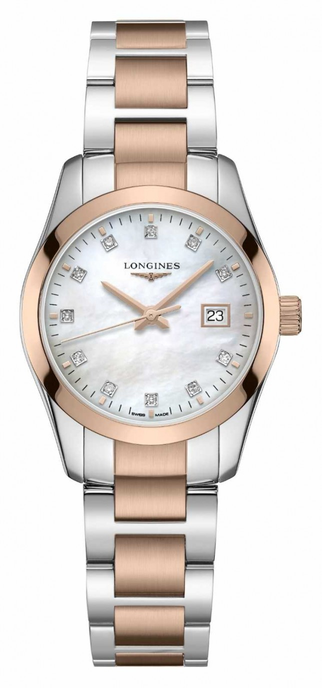 Longines Conquest Classic | Women's | Swiss Quartz | Two-Tone L22863877