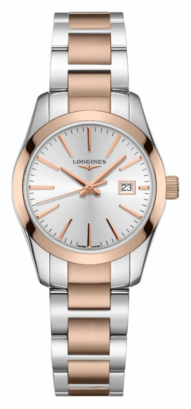 Longines Conquest Classic | Women's | Swiss Quartz | Two-Tone Steel L22863727