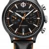 Baume & Mercier Capeland | Men's | Automatic | Black Leather | Black Dial M0A10452