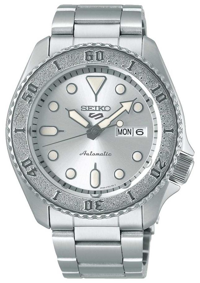 Seiko mens | Automatic | Silver | Sports | Bracelet SRPE71K1