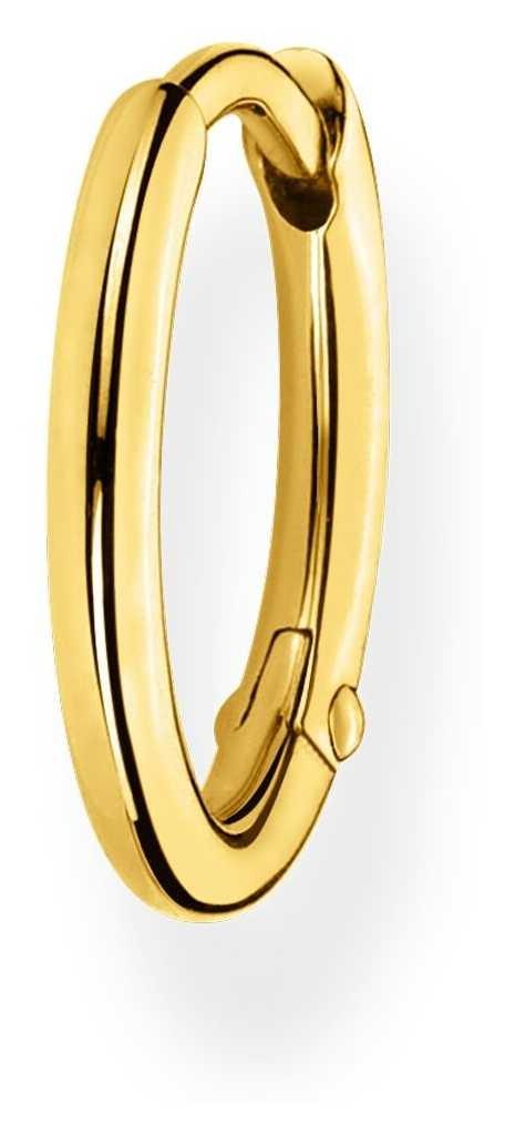 Thomas Sabo 18k Yellow Gold Single Hoop Earring   15mm CR661-413-39