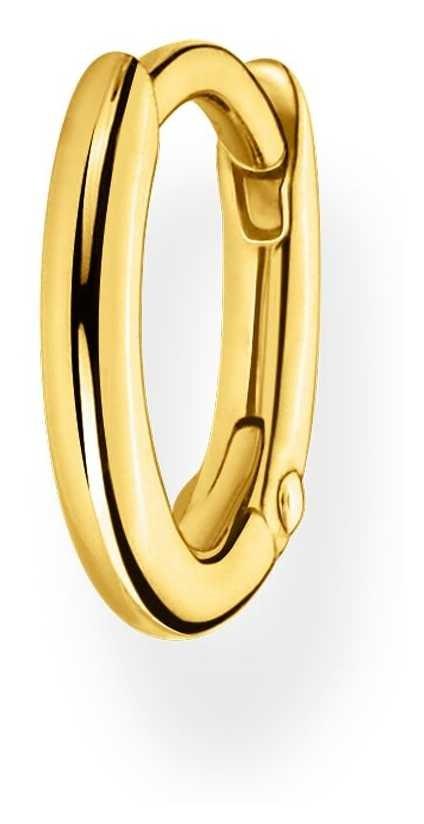 Thomas Sabo 18k Yellow Gold Single Hoop Earring   12mm CR660-413-39