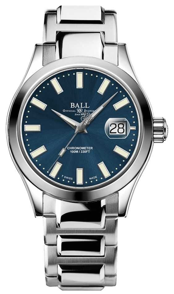 Ball Watch Company Men's Engineer III Auto | Limited Edition | Blue Dial Watch NM2026C-S27C-BE