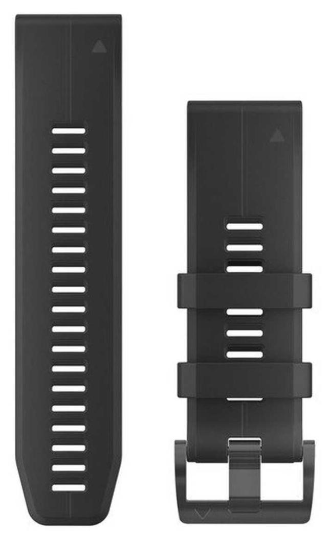 Garmin Black Rubber Strap Only QuickFit 26mm 010-12741-00