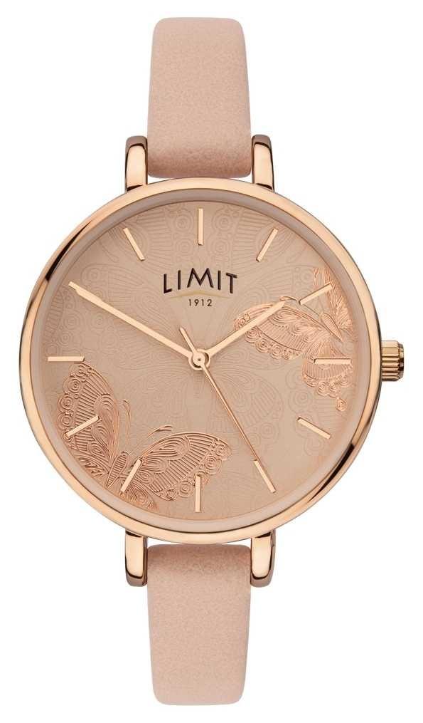 Limit | Womens Secret Garden Watch | Peach Butterfly Dial | 60014