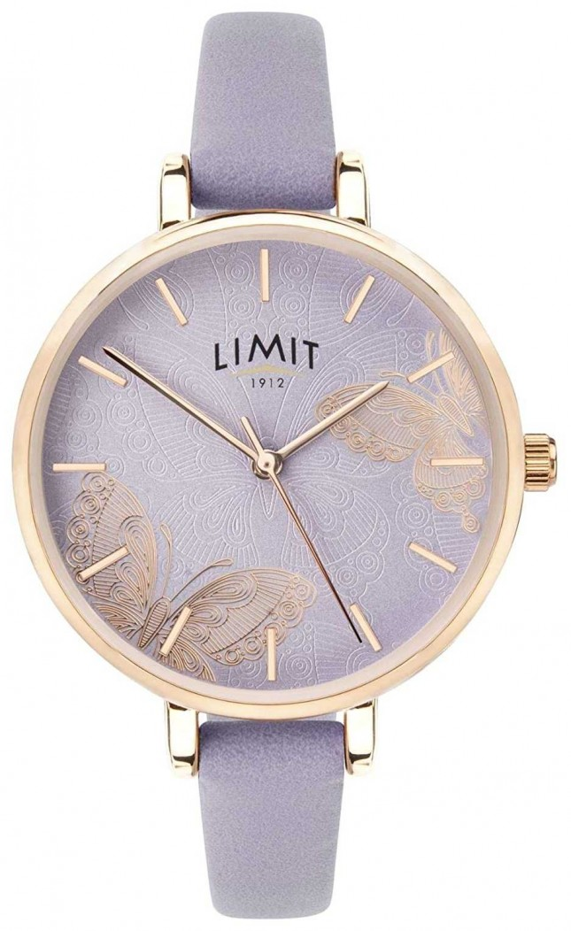 Limit | Womens Secret Garden Watch | Purple Butterfly Dial | 60015