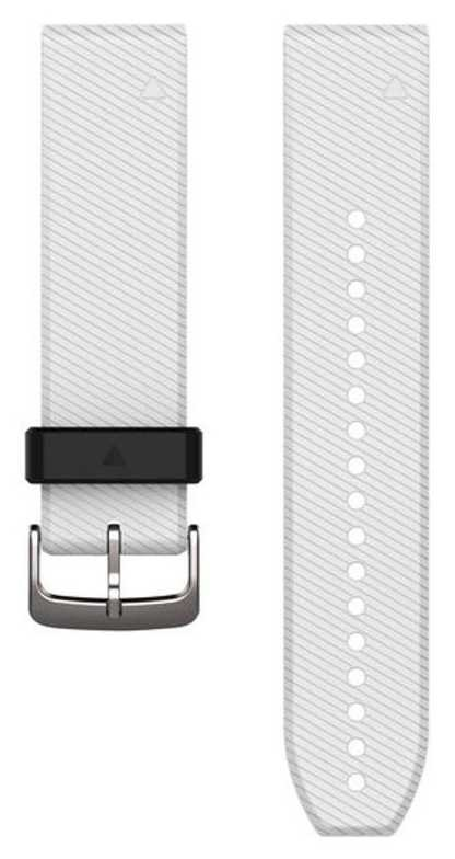 Garmin White Rubber Strap Only QuickFit 22mm 010-12500-01