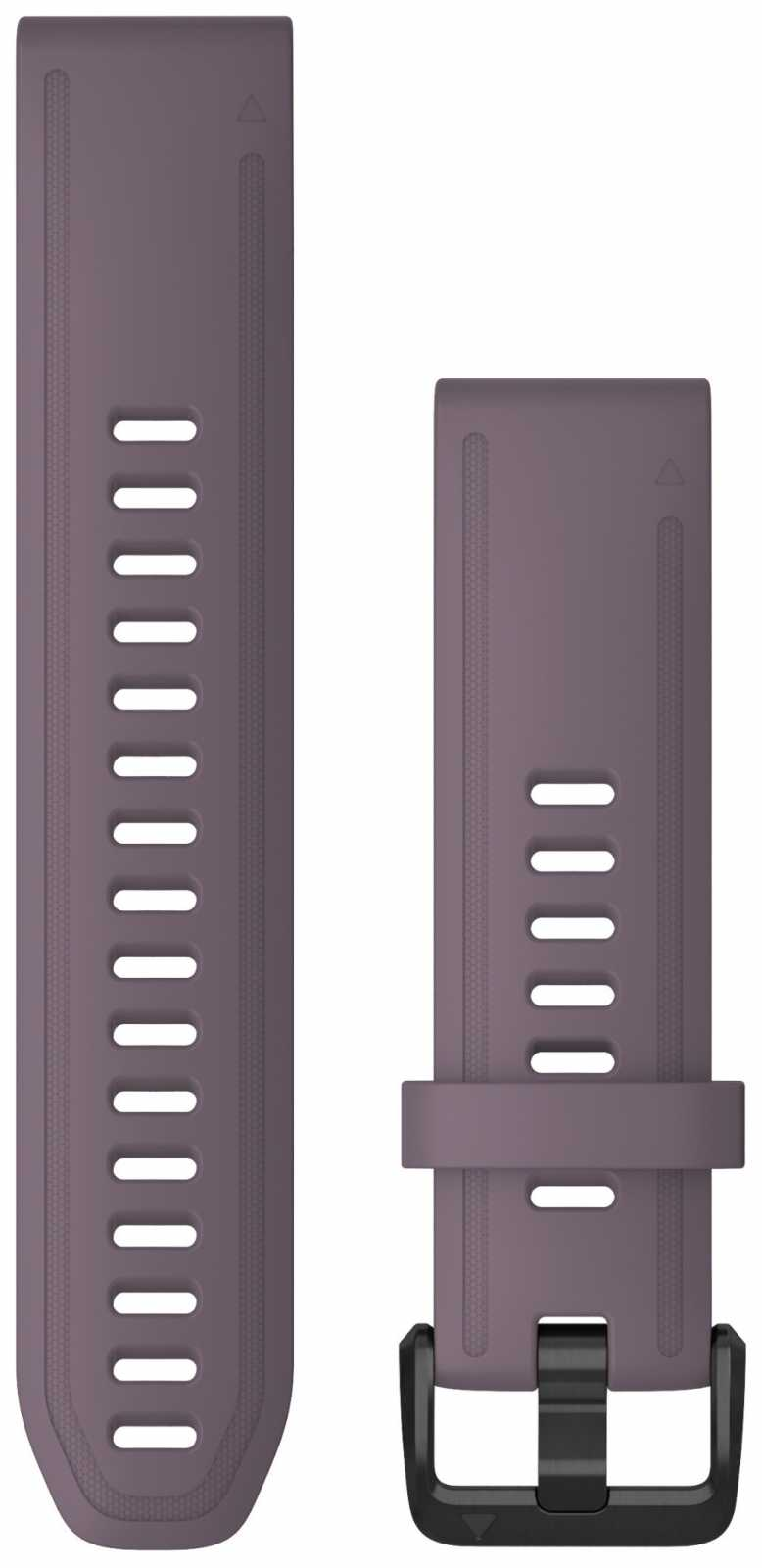 Garmin QuickFit 20 Watch Strap Only, Purple Storm Silicone 010-12871-00