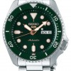 Seiko 5 Sport   Sports   Automatic   Green Dial   Stainless Steel SRPD63K1