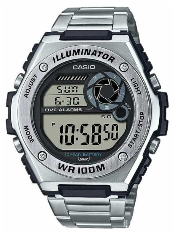 Casio Digital | Illuminator | Stainless Steel | MWD-100HD-1AVEF