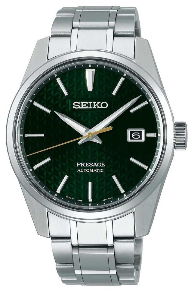 Seiko Presage | Automatic | Green Dial | stainless steel SPB169J1