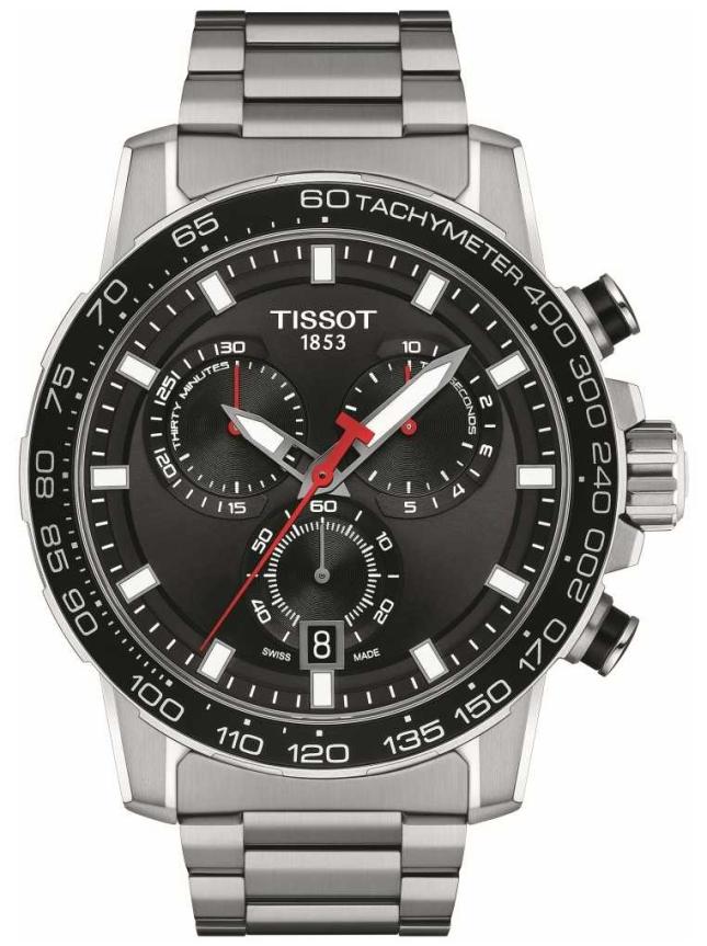 Tissot Supersport Chrono | Black Dial | Stainless Steel Bracelet T1256171105100
