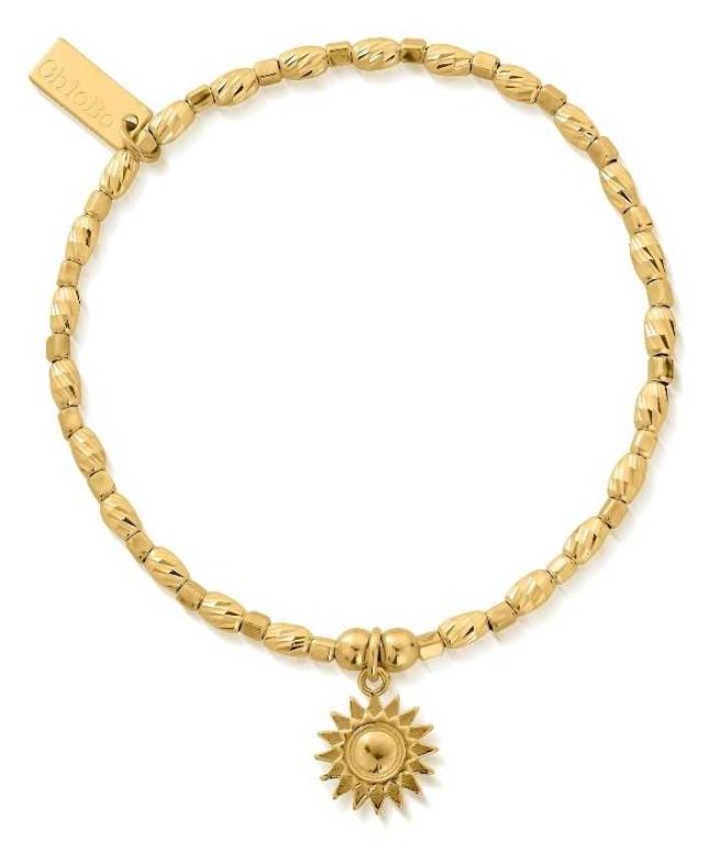 ChloBo Soul Glow Sunshine Bracelet   18ct Gold Plated GBCFR3086