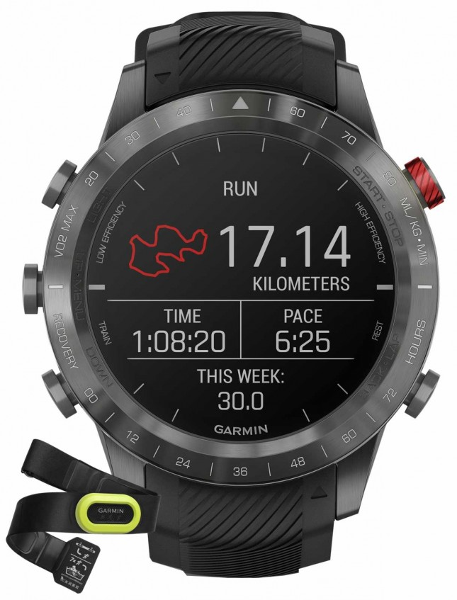 Garmin MARQ Athlete Performance Edition | Black DLC Titanium | HRM-Pro 010-02567-21