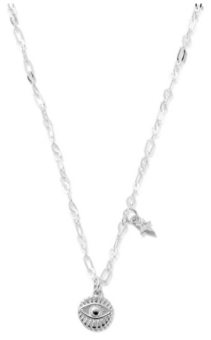 ChloBo Delicate Evil Eye Necklace | Sterling Silver SNLC4009