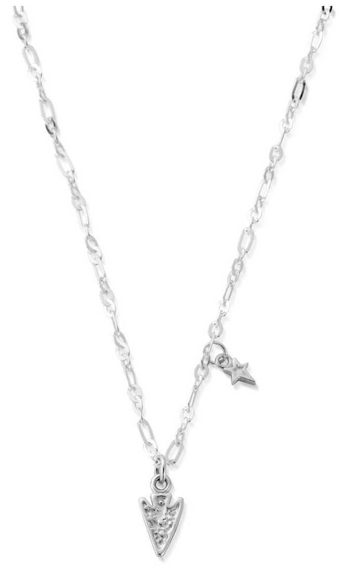 ChloBo Delicate Arrow Head Necklace | Sterling Silver SNLC675