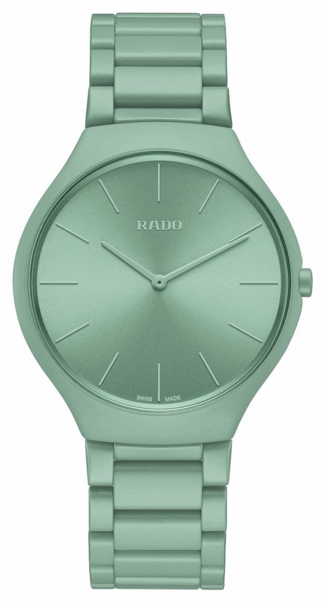 RADO True Thinline Les Couleurs English Green Limited Edition R27096662