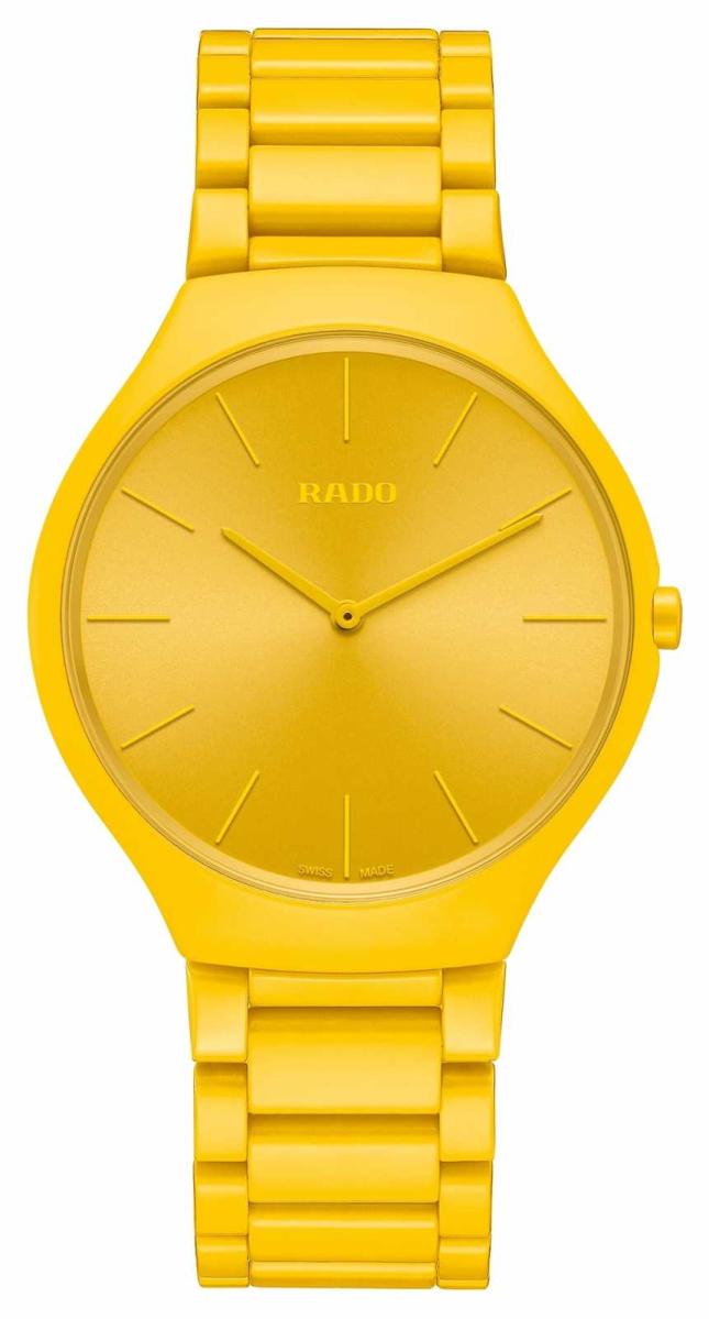 RADO True Thinline Les Couleurs Sunshine Yellow Limited Edition R27093632