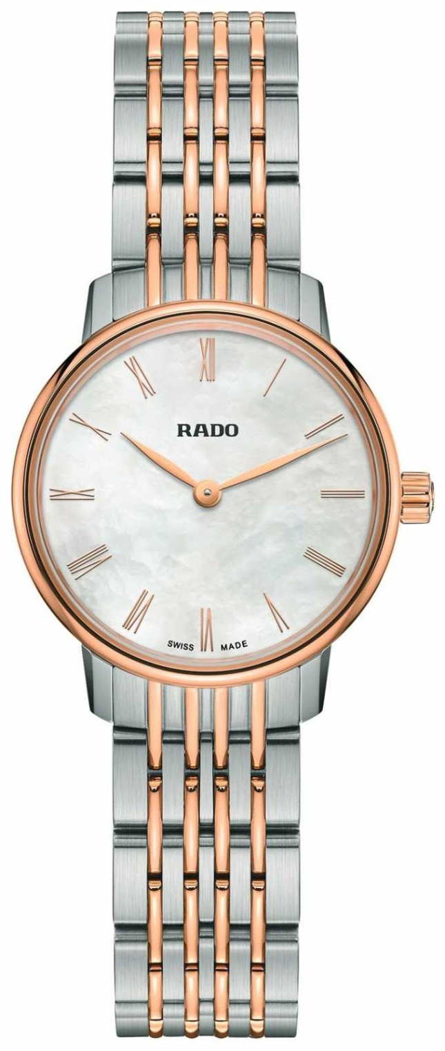 RADO Ladies Coupole Classic Quartz Two-Tone White Dial R22897933