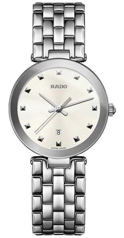 RADO Florence Ladies Quartz Stainless Steel White Dial R48874023