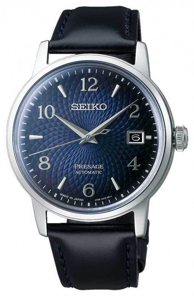 Seiko Presage   Cocktail   Blue Dial   Automatic   Old Clock SRPE43J1