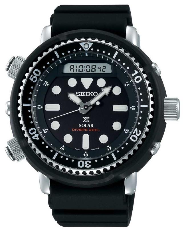 Seiko Prospex Arnie Re-Issue Solar Divers 200m Black SNJ025P1