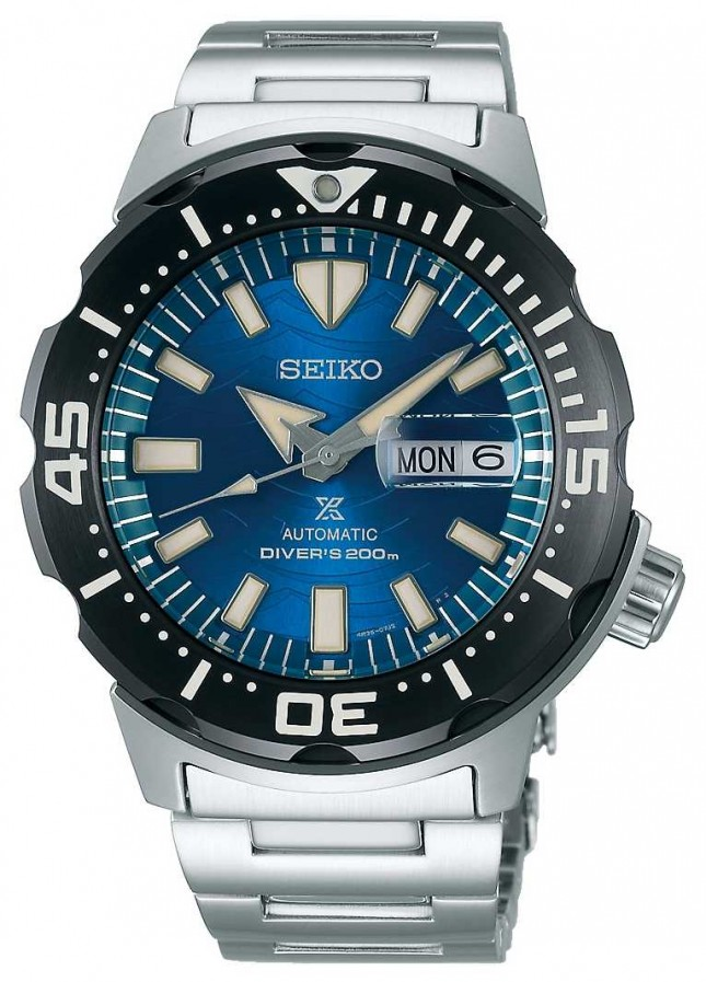 Seiko Prospex Gents Mechanical | Save The Ocean | Blue Dial SRPE09K1