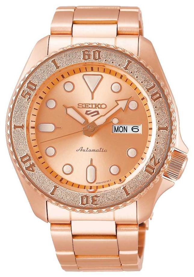 Seiko Rose-Gold | Mens | Automatic | Sports | Bracelet SRPE72K1