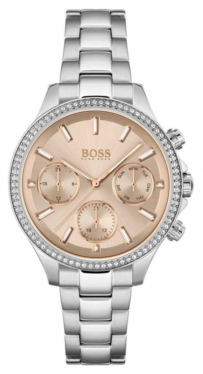 BOSS Women's Hera | Stainless Steel Bracelet | Rose Dial 1502565