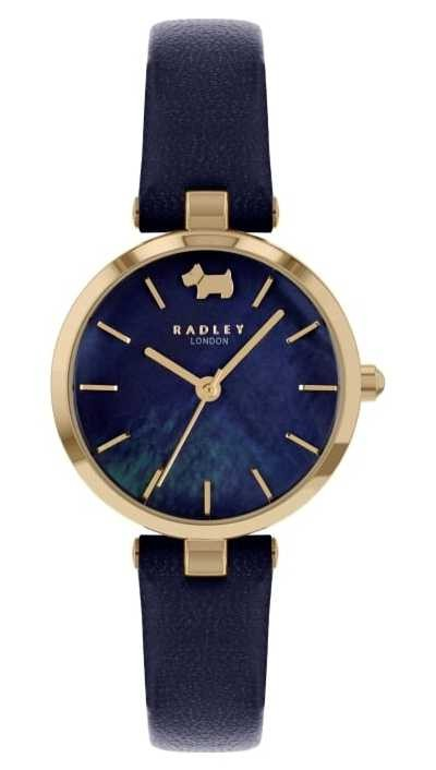 Radley West View   Navy Leather Strap   Navy Dial RY2972