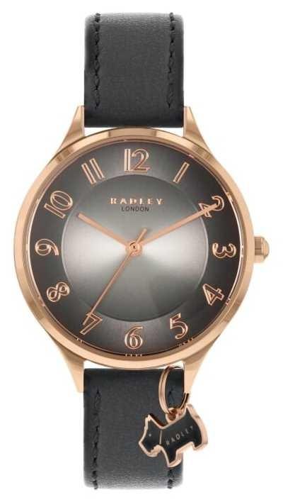 Radley Saxon Road | Grey Leather Strap | Grey Dial RY2966