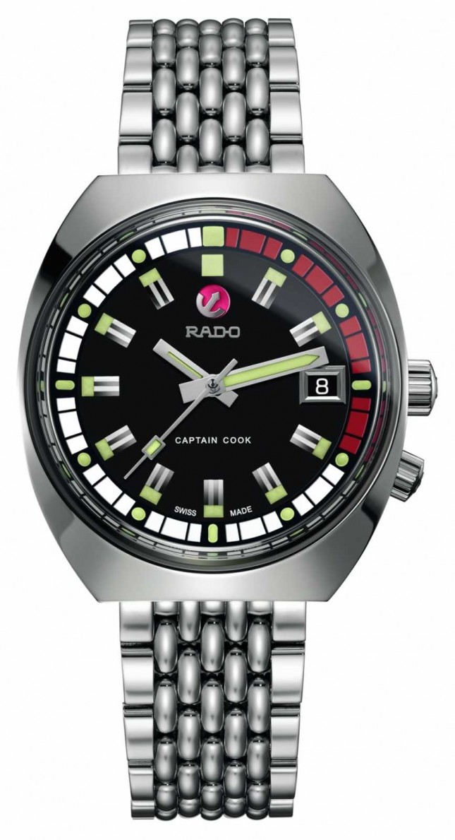 RADO Mens Tradition Captain Cook MKII R33522153