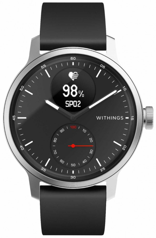 Withings Scanwatch 42mm – Black HWA09-MODEL 4-ALL-INT