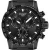 Tissot Supersport Chrono | Black Dial | Black PVD Steel Bracelet T1256173305100