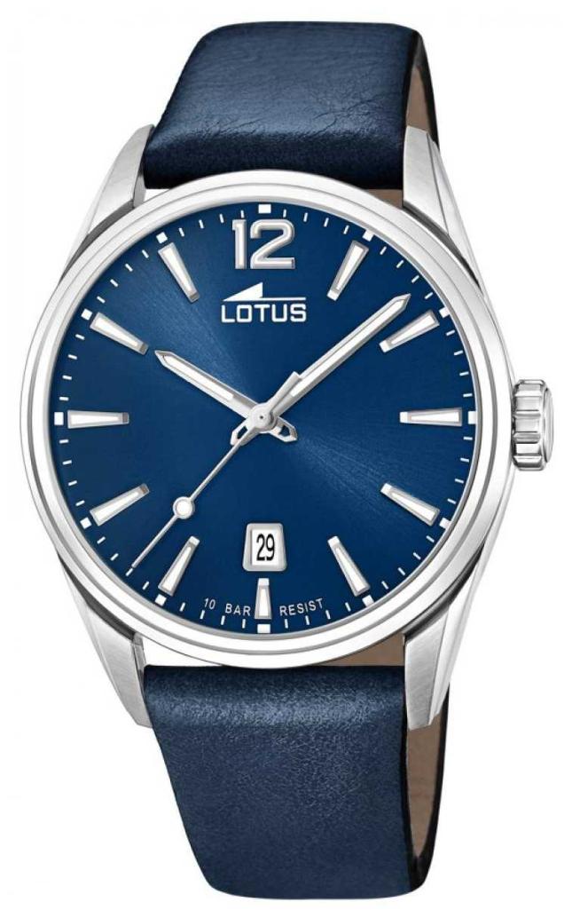 Lotus Men's Blue Leather Strap   Blue Dial L18693/1