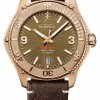 EBEL Men's Discovery Bronze Limited Edition | Brown Calf Skin Leather Strap | 1216471