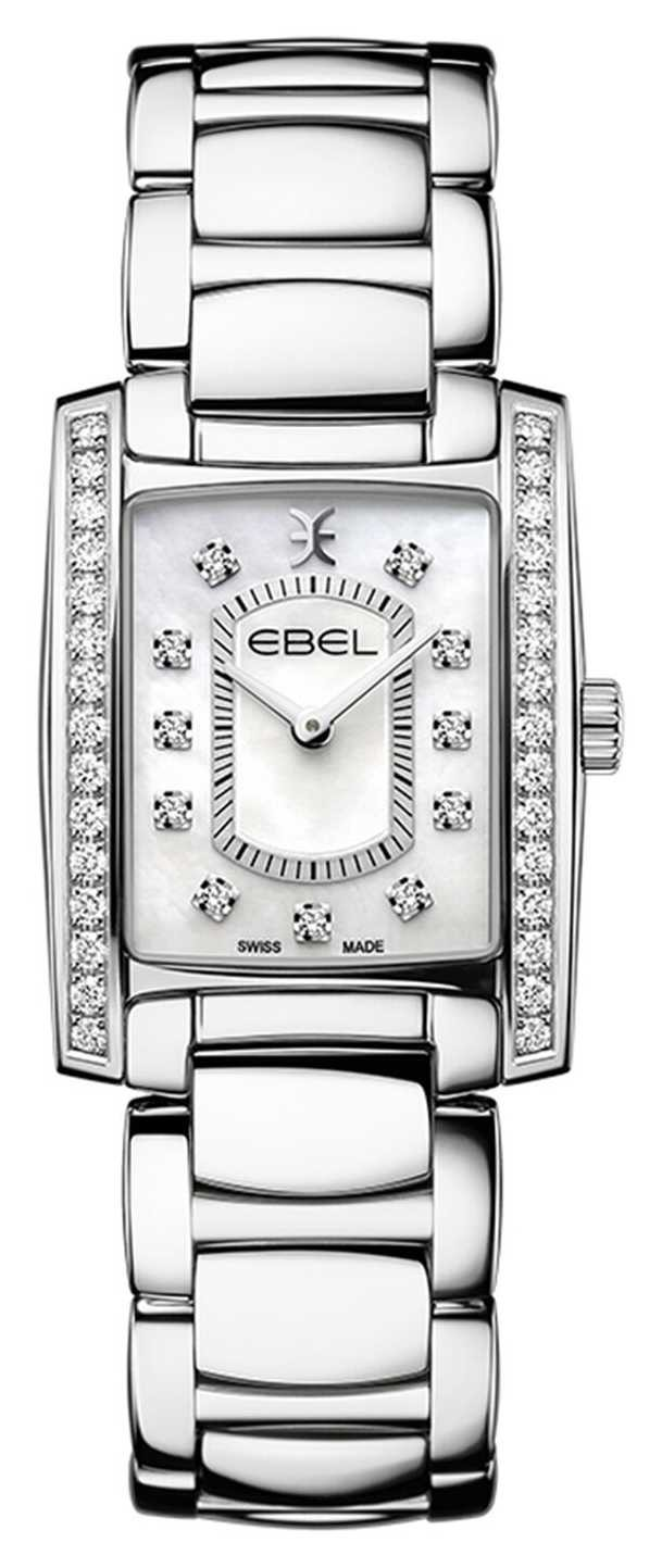 EBEL Women's Brasilia   Stainless Steel Bracelet   Mother Or Pearl Dial 1216463