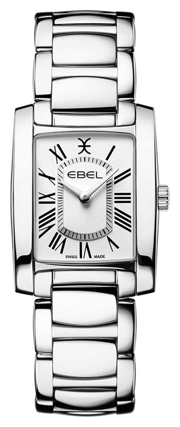 EBEL Women's Brasilia | Stainless Steel Bracelet | White Dial 1216461