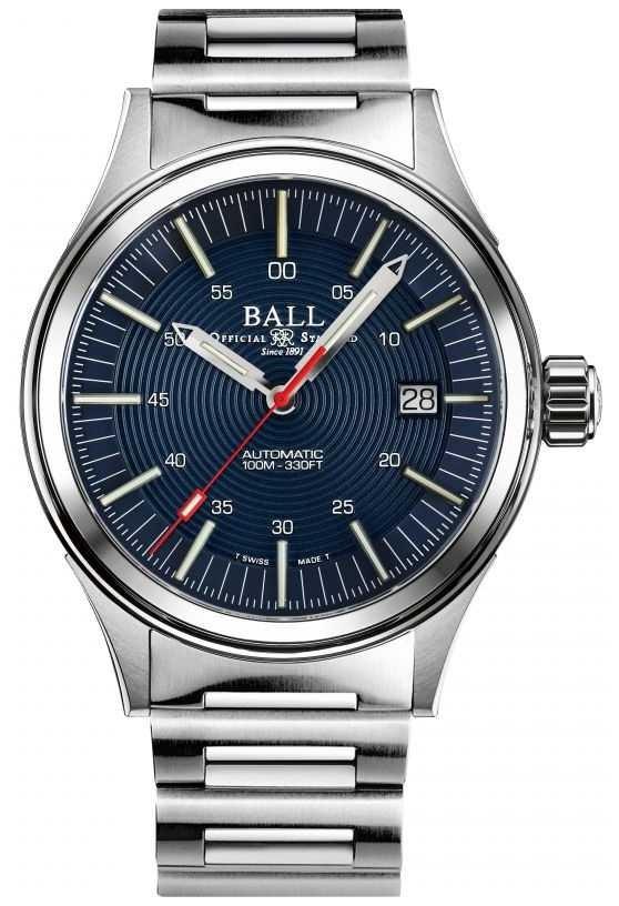Ball Watch Company Fireman NightBreaker | Stainless Steel Bracelet | Blue Dial | 40mm NM2188C-S13-BE