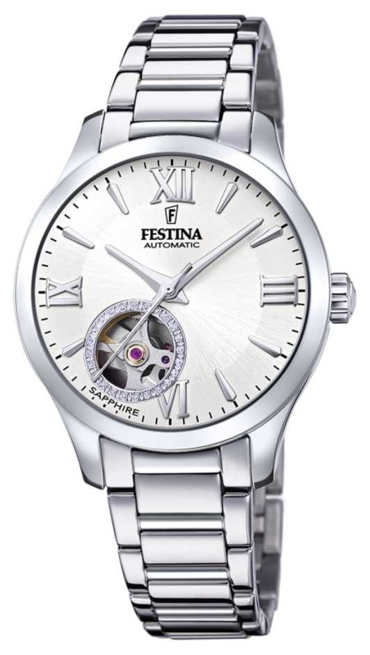 Festina Women's Automatic | Stainless Steel Bracelet | Silver Dial F20488/1