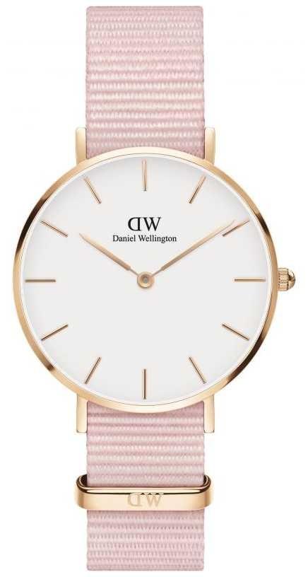 Daniel Wellington Petite 32 Rosewater | Pink Fabric Strap | White Dial DW00100317