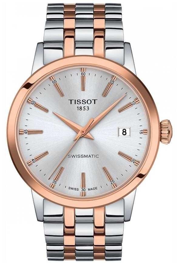 Tissot Swissmatic | Silver Dial | Two Tone Stainless Steel Bracelet T1294072203100