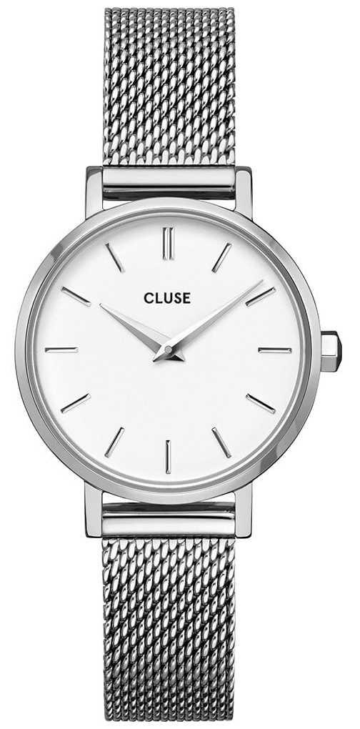 CLUSE | La Bohème Petite | Steel Mesh Bracelet | White Dial | CW0101211007