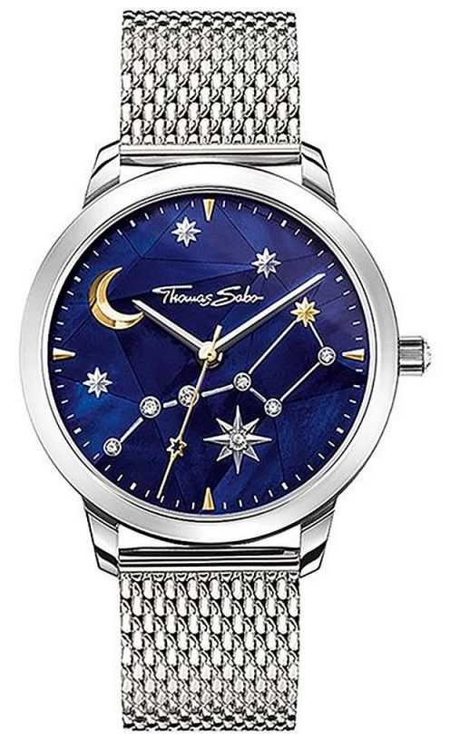 Thomas Sabo | Women's | Spirit Cosmo Starry Sky | Steel Mesh Bracelet | SET_WA0372-217-209-33