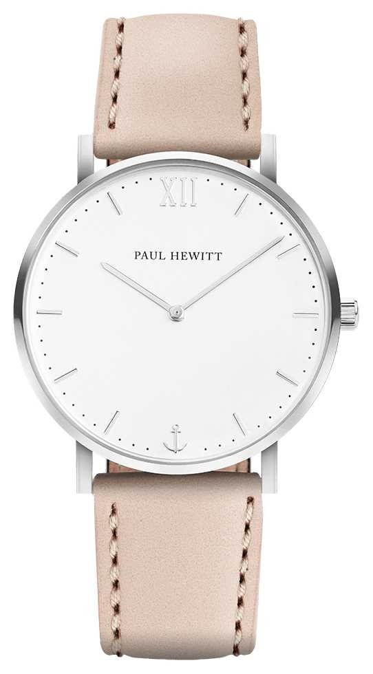 Paul Hewitt | Mens Sailor Line | Beige Leather Strap | PH-SA-R-5M-W-22S