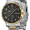 Wenger Attitude Chrono | Two-Tone Steel Bracelet | Black Dial | 01.1543.116
