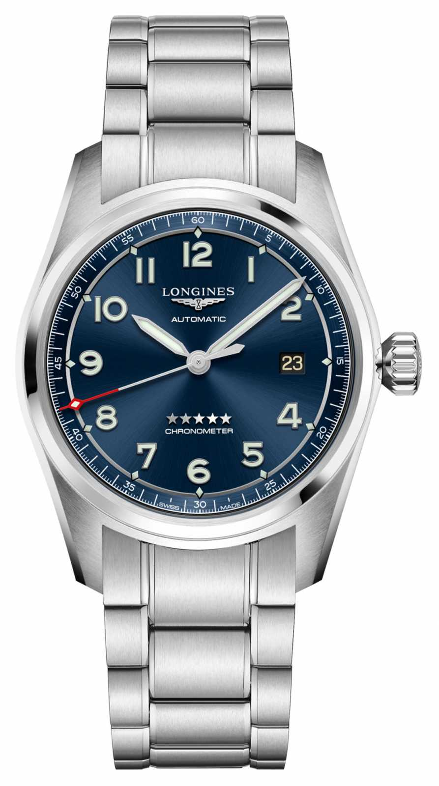 Longines Spirit Automatic Blue Dial Stainless Steel 40mm L38104936