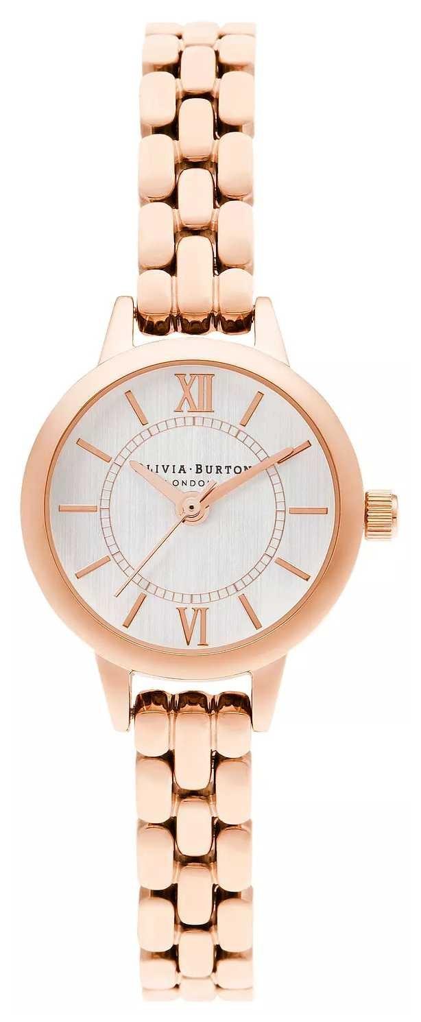 Olivia Burton | Wonderland | Mini Dial | Rose Gold Bracelet | OB16MC51