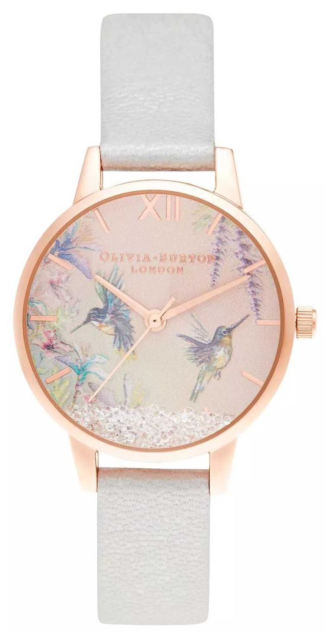 Olivia Burton Wishing Wings Midi Shimmer Pearl & Rose Gold OB16PP61